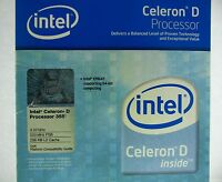 Intel Celeron D 355, 3.33 Ghz 256 Kb 533 Mhz (bx80547re3330cn) Boxed Processor