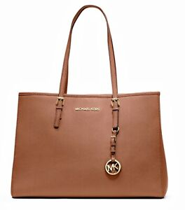 Details about Michael Kors bag Jet Set Travel Tote 30 T 3 GTVT 7l Acorn NEW show original title