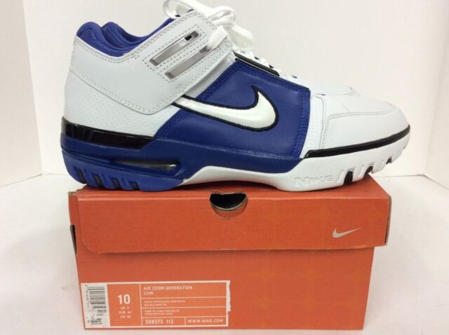 86e97f9164d Nike Mens Air Zoom Generation Low size 10 LeBron James Style  308573 ...