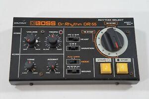 BOSS-Dr-55-Dr-Rhythm-Vintage-Analog-Drum-Machine-Roland-Worldwide-Shipment