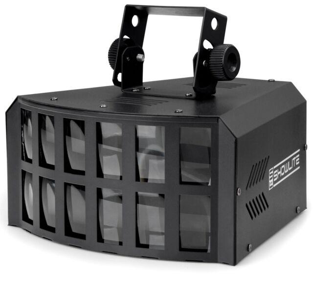 DJ PA LED DERBY LICHT EFFEKT RGBA DISCO LICHT SCHEINWERFER ANLAGE  BÜHNENLICHT