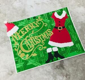 Weihnachts Box Metall Stencil Cutting Dies Scrapbooking Handwerk Stanzschablone