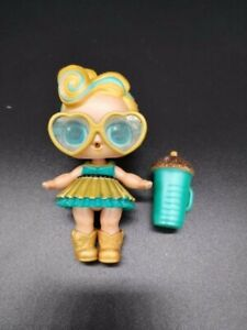 Original LUXE LOT 2 Pcs LOL Surprise LiL Sisters L.O.L 24k gold LUXE queen doll