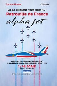 caracal 1 48 patrouille de france dassault dornier alpha jet 48043 ebay. Black Bedroom Furniture Sets. Home Design Ideas