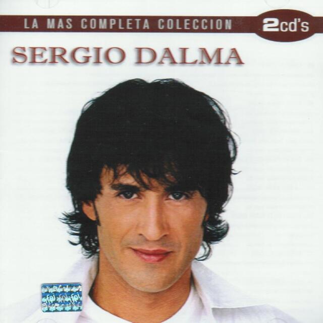 Sergio Dalma CD NEW La Mas Completa Coleccion SET Con 2 CD's 32 Canciones !