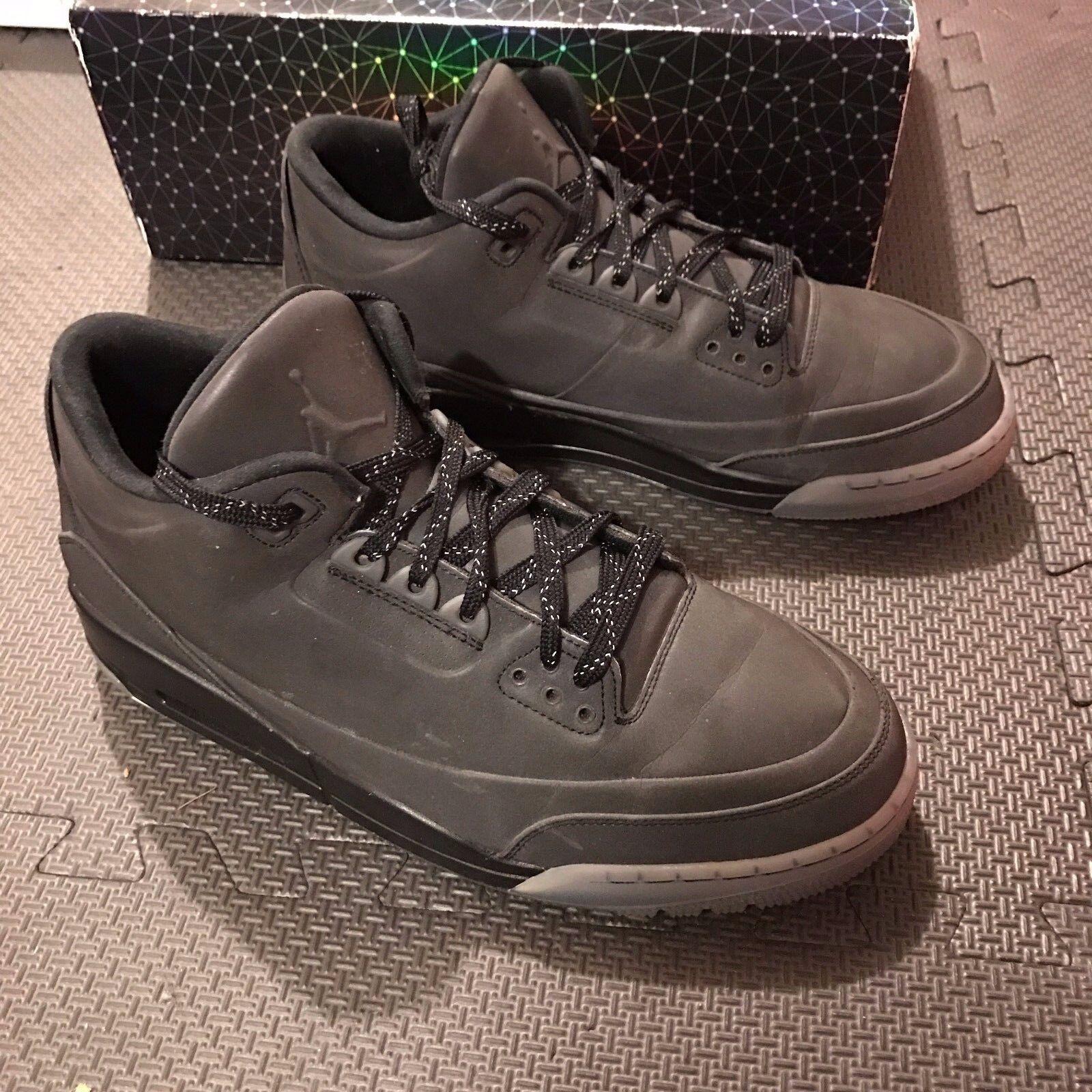 Nike Air Jordan 5lab3 631603 010 US Hombre SZ descuento 10,5 NEGRO 3M gran descuento SZ c20eaf