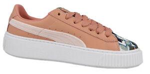 Puma Platform Hyper Emb Damen Leder Sneaker Gr. 37,5 Freizeitschuhe neu