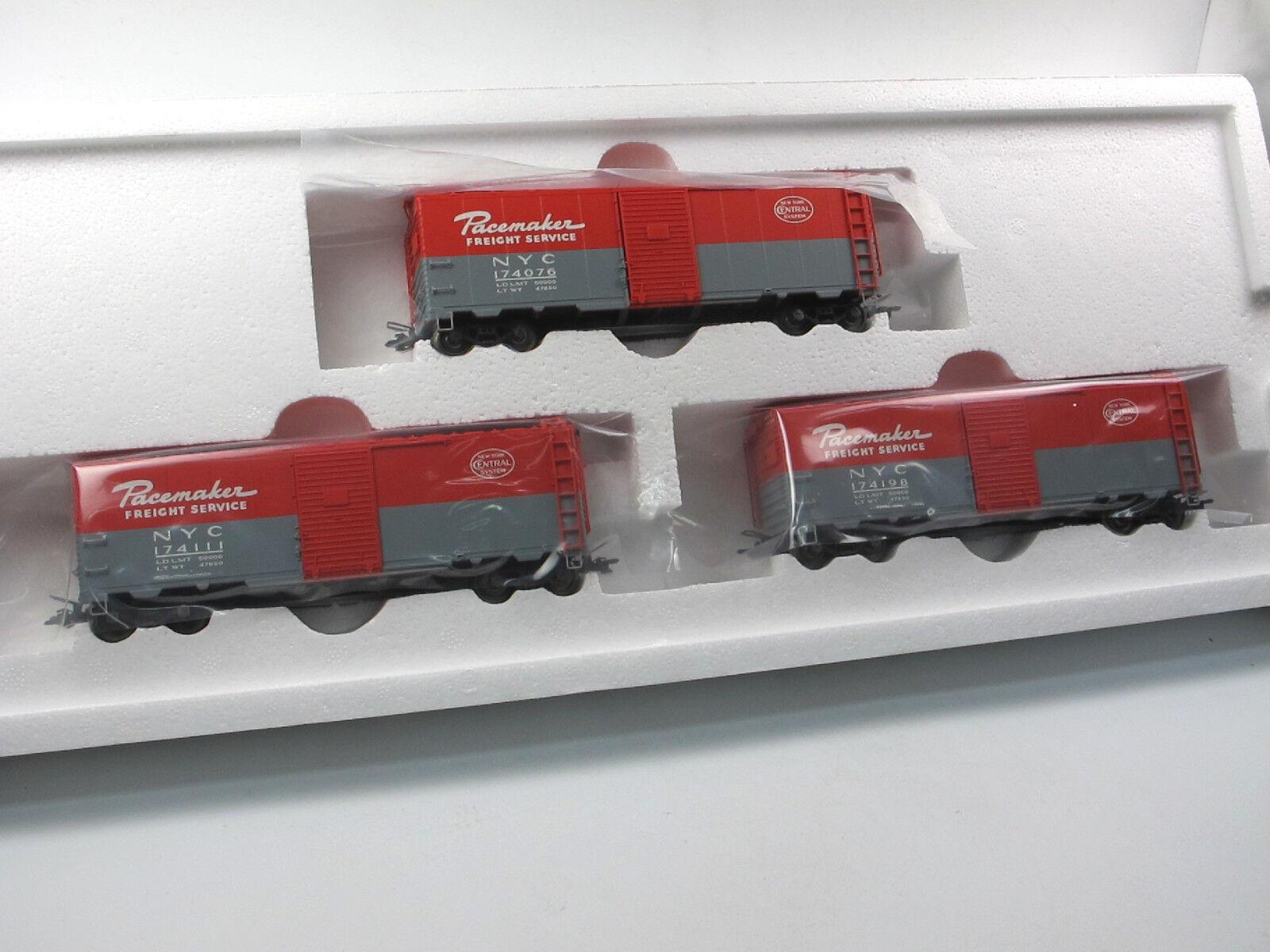 Märklin 45648 Freight Car Set 3 garantite carri merci NYC pacemaker h0 NUOVO OVP