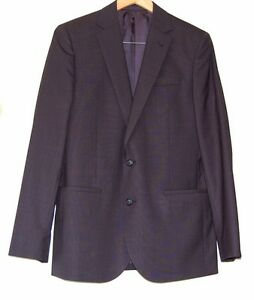 Country-Road-Mens-Slim-Fit-Navy-Blue-Suit-Jacket-Blazer-Size-38-RRP-450