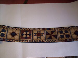 Details About Country Patchwork Quilt Pattern Prepasted Wallpaper Border Hh2815 2b
