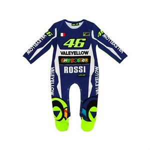 2018-OFFICIAL-Moto-GP-Vale-Rossi-46-Yamaha-Replica-BABY-Grow-Overall-Suit-NEW