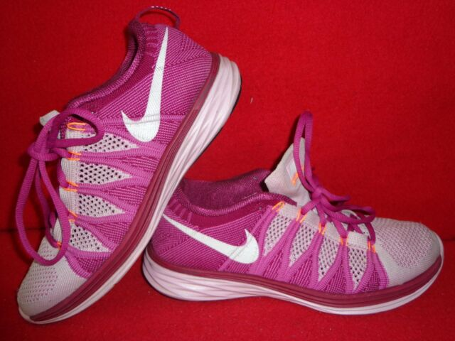 brand new 287ba 4a9ad Nike Flynit Lunar-2 Athletic Women s Shoes Multi-Color Size 9