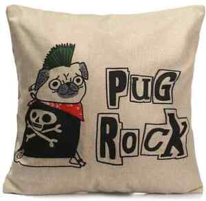 Funny-Cute-Pug-Cushion-Pug-Rock