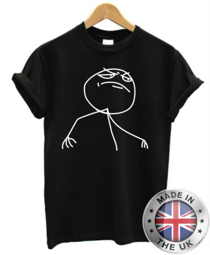 Meme Troll T-Shirt S-XXL Herren Damen Nerd Geek F Yeah