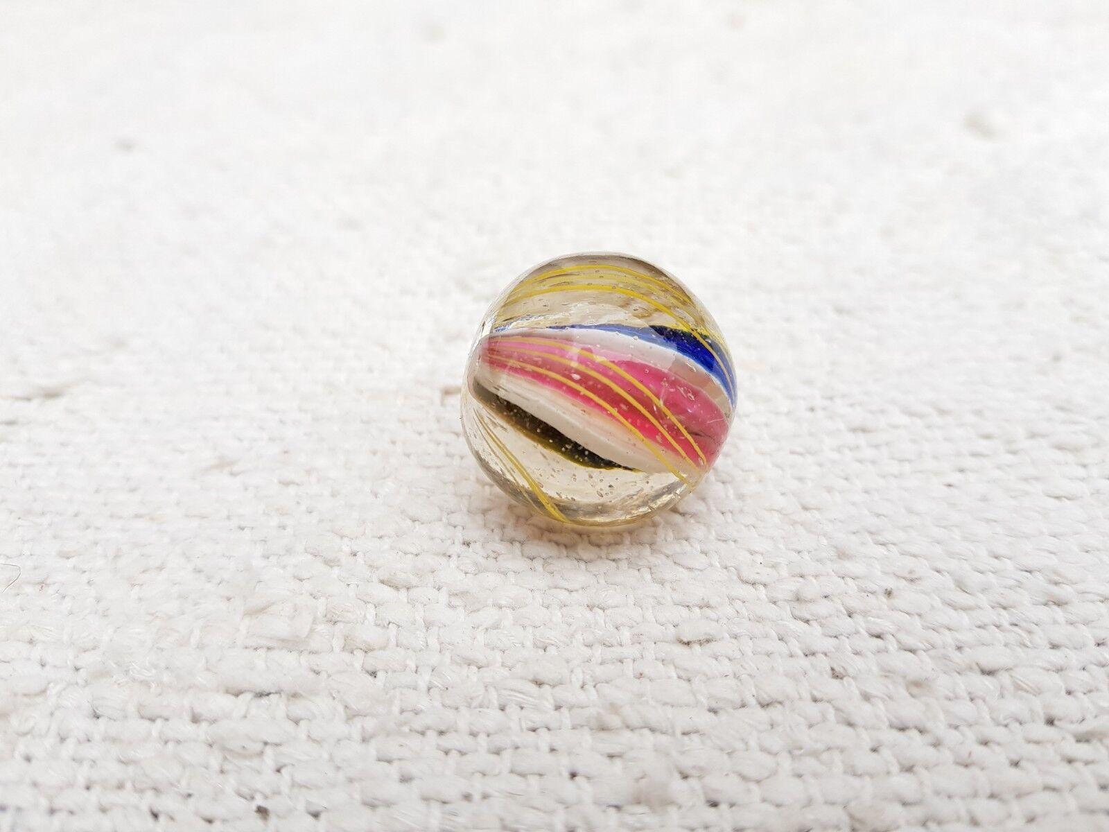 Zwanziger vintage - original handgefertigte sich kern schwenken, 1 glas marmor - deutschland