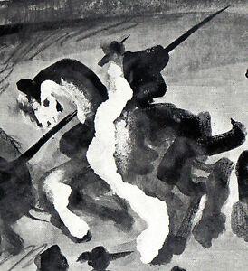 PABLO-PICASSO-1960-PRINT-w-COA-awesome-unique-work-CORRIDA-Very-Rare-Picasso-Art