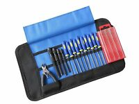 Set 3 Craft Model Hobby Tools Kit For Modellers & Jewellery Makers Wrap Up Case