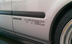 Honda-DOHC-stickers-VTEC-civic-ef-eg-ek-adhesive-graphic-car-decals-pair