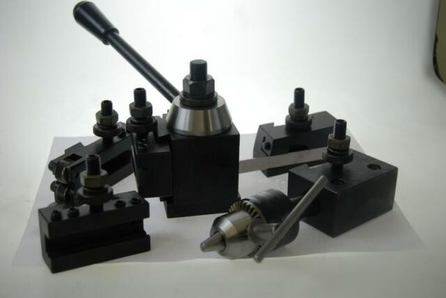 Soba Piston Type Lathe Quick Change Toolpost Set
