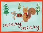 Holiday Forest Friends Embellishd Notecards 9780735338364 Galison Books 2013