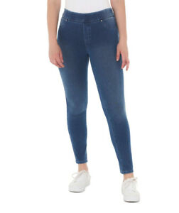 NEW-Suzanne-Grae-Women-039-s-Knitted-Jegging-in-Mid-Denim
