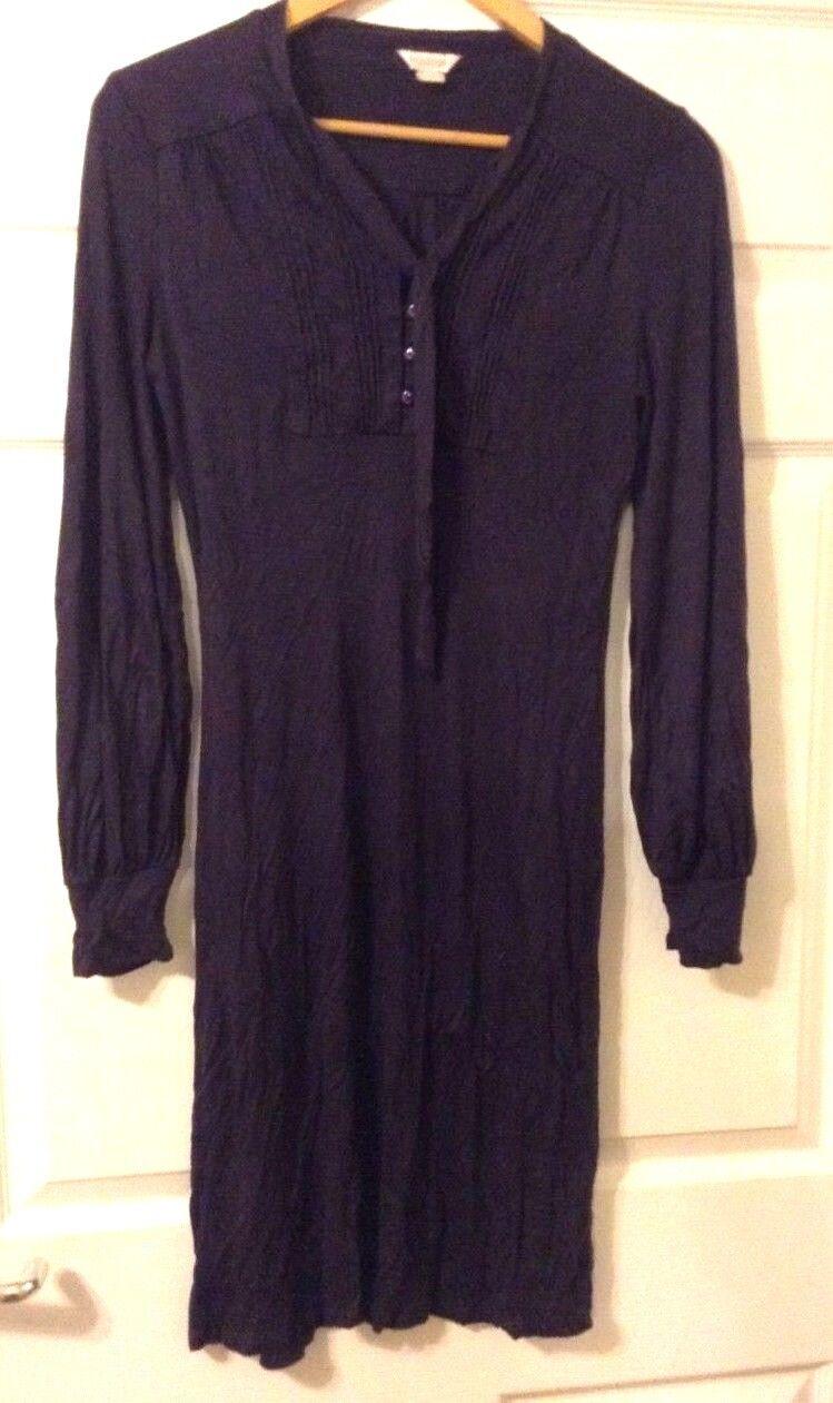 Monsoon dark purple dress for women-size