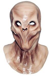 Deluxe Alien Latex Head Mask Halloween Novelty Costume Rubber Full Head Carnival