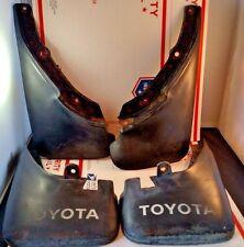 OEM 88-92 Toyota Corolla Mudflaps Splash Guards Set E90 4x4 All Trac Mud Flaps