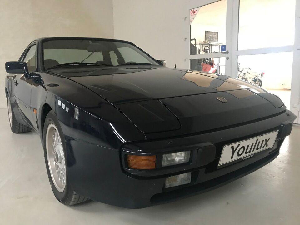 Porsche 944 2,5 Benzin modelår 1983 km 95525000 Blå, uden