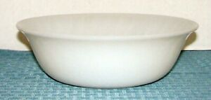 "1959 Anchor Hocking Fire-King White Swirl 8 1-4"" Vegetable Serving Bowl - VGD 2s2U1bNy-09161100-575957184"