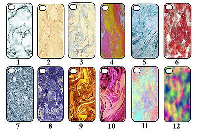 Cool Marble Effect Case/Cover. Designs for Iphone 4/4s, 5/5s, 5c, 6(4.7) & 6+