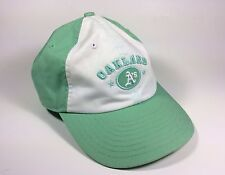 Oakland A's New Era Adjustable Womens Baseball Hat Cap Lime Green White Color
