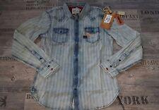 Original Khujo Jeans Hemd Herren  Gr.M UVP: 119€