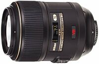 Nikon AF-S VR Micro-NIKKOR 105mm f/2.8G IF-ED Vibration Reduction Fixed Lens ...