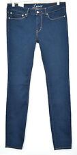 NEW Levis Super Skinny Dark Blue INDIGO Mid Rise Jeans Size 12 W30 L32