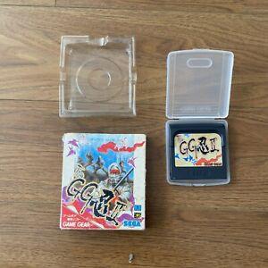 Game Gear THE GG SHINOBI II 2 Cartridge Only Sega Import JAPAN Game gg