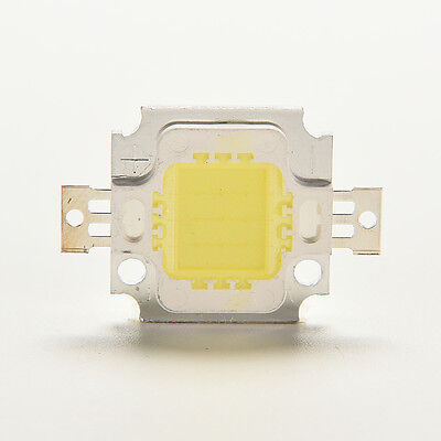 10/20/30PCS 10W SMD Flood Light Led Chip Light Cool/Warm White High Power 30Mil
