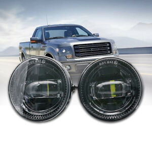 2x-30W-brightest-Led-Fog-Lights-Driving-Ford-4-4-Truck-Lamp