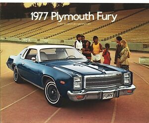 1977 plymouth fury sport fury salon fury sales brochure ebay for 1976 plymouth fury salon