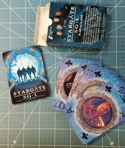 Details about Stargate SG-1 Character Playing Cards from 2005