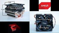 Amd Near Silent Cooler For Phenom & Fx Series Processors Socket Am3 Am2 940