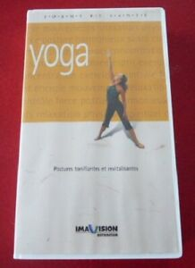 VHS-French-Movie-Yoga-Forme-et-Sante-Postures-Tonifiantes-et-Revitalisantes