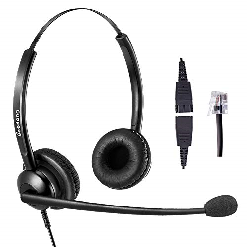 Telephone Headset For Cisco With Rj9 Jack For Landline Phone Headset With Noise For Sale Online