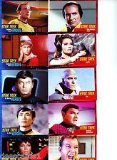 Star Trek The Original Series - Heroes and Villains Trading Card Set 2013 + P1