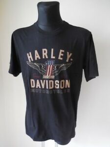Harley Davidson No.1 Genuine Classic T-Shirt Shirt kurzarm schwarz 99033-17VM