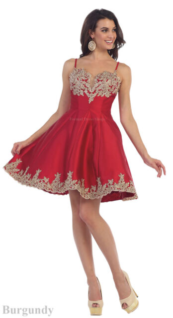 164bc153c7c PAGEANT PROM SWEET 16 SEMI FORMAL COCKTAIL HOMECOMING SHORT DRESSES W    POCKETS