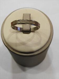 Verlobungsring Unisex aus Silber 925,Neu mit Box, Abmessung 22
