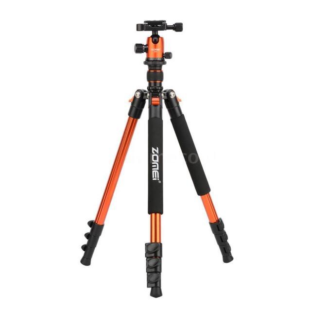 ZOMEI Q555 63 Inch Lightweight Aluminum Alloy Travel Portable Camera Tripod G4N7