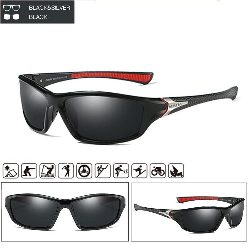 Men Polarized Sport Sunglasses Ourdoor Driving Riding Fishing Glasses New