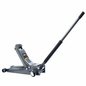 3Ton Low Profile Trolley Jack Hydraulic Car Floor Car Lifter Dual Pump HeavyDuty